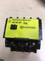 Klockner Moeller Relay DIL08-80NA 120v 60hz