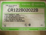 CR122B02022B PNEUMATIC TIMER GE NEW