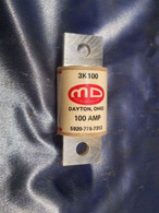 M D Micro Devices (3K100) Fuse, New Surplus box of 5