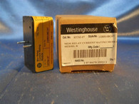 Westinghouse MOR Relay HTM-07 Current Rating Module Model B (1D89108G07) NIB