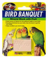 Bird Banquet Fruit Mineral Block