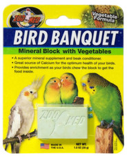 Bird Banquet Vegetable Mineral Block