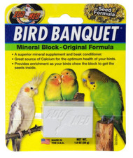 Bird Banquet Original Mineral Block