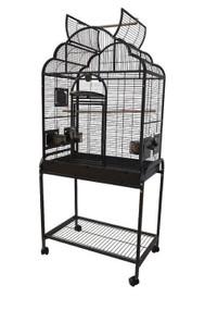 Victorian Top Bird Cage w/ Stand
