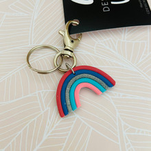 'Mini Rainbow' Keyring / Bagtag