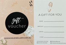 GIFT CERTIFICATE - $80
