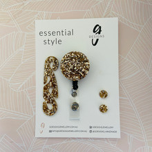 Essentials Set - Set of 3 - 'LIGHT GOLD GLITTER'