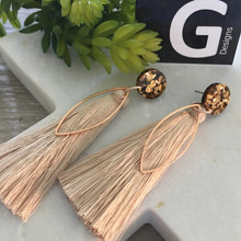 BLUSH/NUDE (2012) - Long Glitter Tassels