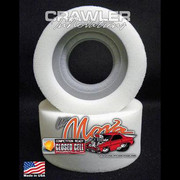 """rawler Innovations is excited to bring a new material and design to the RC Rock Crawling, & Scale RC Crawling hobby / sport. This new design features a closed cell inner foam with a conventional outer. The closed cell inner foam is super dense, water proof, is not temperature sensitive and is extremely durable. The conventional outer foam is not temperature sensitive, but it is not water proof. The closed cell inner foams are designed for 1"""" wide bead locks. The outer foam is Over- Sized on purpose to encase the closed cell inner, and to provide for weight support. This is the tallest height of the 1.9 closed cell inners and is designed for scalers weighing 9 - 12 pounds using tires 4.750"""" to 5.0"""" Tall.   1.9 Lil' Nova Outer Foam Choices: Soft Medium Firm"""