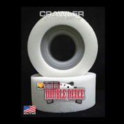 "Crawler Innovations is excited to bring a new material and design to the RC Rock Crawling, & Scale RC Crawling hobby / sport. This new design features a closed cell inner foam with a conventional outer. The closed cell inner foam is super dense, water proof, is not temperature sensitive and is extremely durable. The conventional outer foam is not temperature sensitive, but it is not water proof. Inner Width: The Comp Cut Inner Foam Width fits 1"" - 1.35"" wide bead lock wheels.   ""Comp Cut"" Inner Foams have a relief machined into the inner foam allowing for the outer foam to compress into. This results in a more responsive tire for competition RC Rock Crawlers.     5.25 Double Deuce Outer Choices: Soft Medium Firm  The 5.25 size is designed for light weight competition trucks 6 pounds or less in weight. If your truck is under 4 pounds, please use the 5.0.  The 5.25 fits the Hot Bodies white, blue & pink dot Rovers, Hot Bodies Sedonas, Axial Ripsaws, Losi Boss Claws, Pit Bull Rock Beasts, Pro-Line Chisels, Panther Leopards, HPI Rock Grabbers, and any manufacture's tire that measures 5.5"" inches tall or shorter."