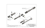 NOTE: Does not fit Jeep Rubicon models.   MIP Spline Center CVD™ Kit for Axial, SCX10 vehicles (except Jeep Rubicon models), replaces stock plastic drive shafts with a high quality drive shaft kit that requires no vehicle modification to install #10145
