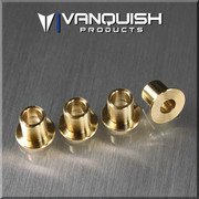 Vanquish Products Brass Knuckle Bushings  Works with stock Axial and Vanquish Products SCX10 Knuckles and Wraith Knuckles.