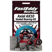 Axial AX10 Bearing Kit  Includes the following:  6pcs 10x15 10pcs 5x11 4pcs 5x10 2pcs 8x16