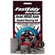 Axial AR60 Axle Sealed Bearing Kit (Single Axle Set)  This is a full replacement set of bearings for (1) Axle Set If you are doing both the front and rear you need to order (2) Sets    Includes the following:  6pcs 5x11x4mm 4pcs 10x15x4mm