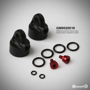 Molded aeration shock caps & Aluminum aeration screws... GM0020016  Usuable with: Gmade XD shock series