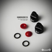 Aluminum XD Shock Caps with Diaphragms....GM0020015