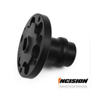 A simplified design replaces the stock Axial plastic diff cup and sintered locker with a one piece spool that reduces slop in your axles. Made from high quality US chromoly steel and heat treated for a durable and long lasting product at a great price.  Compatible with Axial's Stock and Machined gear sets.