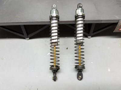 USED INTEGY 125MM SHOCKS C22918SILVER ( EXCOND)
