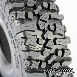 "PIT BULL ROCK BEAST® XL 1.9 Scale Tires // (2) Two Tires per packet with (2) Two - Foams & (1) Decal sheet. ALIEN KOMPOUND  The Rock Beast XL Scale 1.9's are miniaturized versions of the Champion Pit Bull Rocker LT 1:1 tires. For those of you with 1:1 Pit Bull Rockers on your rigs...and have been wanting to pimp out your Scale R/C's with some Pits...here 'ya go!!! Our multi-varied tread design increases forward/reverse and lateral traction with serious biting across the footprint. These Rock Beasts have many features designed to increase speed and control while enhancing stability and contact patch. Excellent lateral bite--incredible stickiness and exceptional traction. You'll be seeing this Bad Mammer Jammer on the podium very soon...and probably already have!!!  DIA 4.75  WIDTH 1.7  Alien Kompound - Super Sticky - ""Stickier than Alien Snot!"" - great wet or dry. These suckers will hold on in off-camber situations.  This tire is a GameChanger #GameOver. Don't believe us...really...don't. Wait until someone else is running them and you will see for yourself.   You've been asking us to make a taller Rock Beast 1.9 with a little more spacing. We've done that and more!"