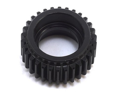 This is an optional Traxxas Aluminum Idler Gear, and is intended for use with Traxxas 1/10 electric vehicles. Machine cut gears are more precise for less wear and friction. Provides quiet, more efficient operation. A light coating of silicone grease is required on the gears.  NOTE: TRA3195X & TRA1996X must be used together. Also, it is recommended that a new TRA2388 main diff gear is installed.    COMPATIBILITY Traxxas Bandit Traxxas Rustler Traxxas Slash Traxxas Stampede