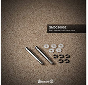 Gmade 0020002 Shock Shaft Set for XD 55mm Shock Replacement Parts HRP Distribution GMA0020002