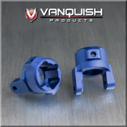Vanquish Products Heavy Duty Aluminum 8 Degree Chubs for Axial SCX10  Works specifically with Vanquish 8 Degree Knuckles Works with SCX10, AX10, Honcho, Dingo, JK and G6 Replaces AX30495, AX80012 ****Requires Vanquish 8 Degree Knuckles