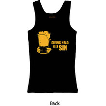 Womens Tank Top (Giving Head is a Sin)
