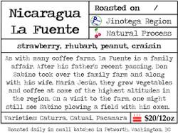 Nicaragua La Fuente Natural Process
