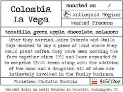 Colombia La Vega