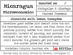 Nicaragua Microeconomics