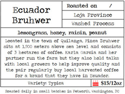 Ecuador Bruhwer