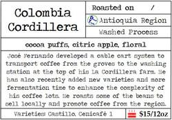 Colombia Cordillera