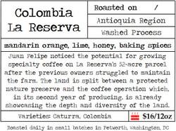 Colombia La Reserva