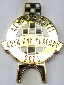 2003 Official 40th Anniversary Pin