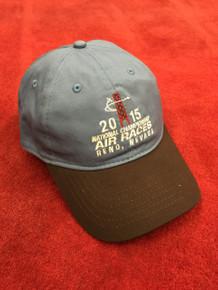 2015 Official Hat, pylon logo, adjustable, denim blue/brown