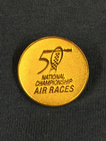 2013 50th Anniversary Gold Pin