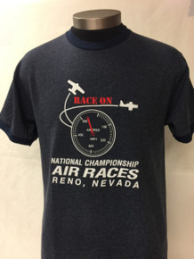 "Men's Tee ""Race On"""
