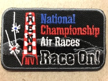 "Patch ""RACE ON"" undated"