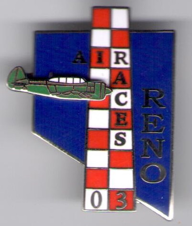 2003 Official Pylon Pin