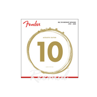 Fender 80/20 Bronze Acoustic Strings 10 - 48  - 70M