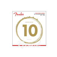 Fender Acoustic 80/20 Guitar Strings 10-48 Coated 880XL
