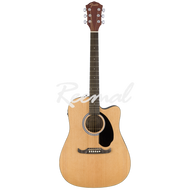 Fender Semi Acoustic Guitar Dreadnought Walnut Fingerboard FA125CE NAT