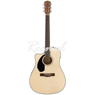 Fender Semi Acoustic Guitar CD60SCE LH NAT