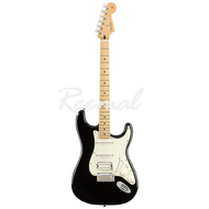 Fender Electric Guitar Mexican Player Series Stratocaster HSS Maple BLK