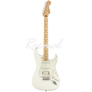 Fender Electric Guitar Mexican Player Series Stratocaster HSS Maple PWT
