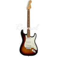 Fender Electric Guitar Mexican Player Series Stratocaster Pau Ferro 3TSB