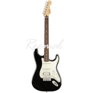 Fender Electric Guitar Mexican Player Series Stratocaster HSS Pau Ferro BLK