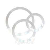 "Remo Dynamo Pack White 5"",7"", 9"""