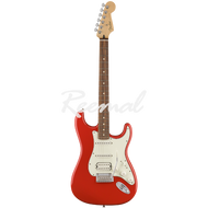 Fender Electric Guitar Mexican Player Series Stratocaster HSS Pau Ferro SRD