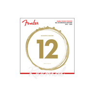 Fender 80/20 Bronze Acoustic Strings 12/52 880L
